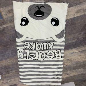 Justice fleece sleeping bag